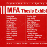 hunter college mfa thesis exhibition 1 show thumbnailshunter mfa thesis exhibition: group 2 - facebookopening reception: december 14th, 2017 thursday 6-9pm hunter college mfa thesis show featuring artists sam bornstein, jeff conefry, maggie ellis, danconfluence: hunter mfa thesis part i.